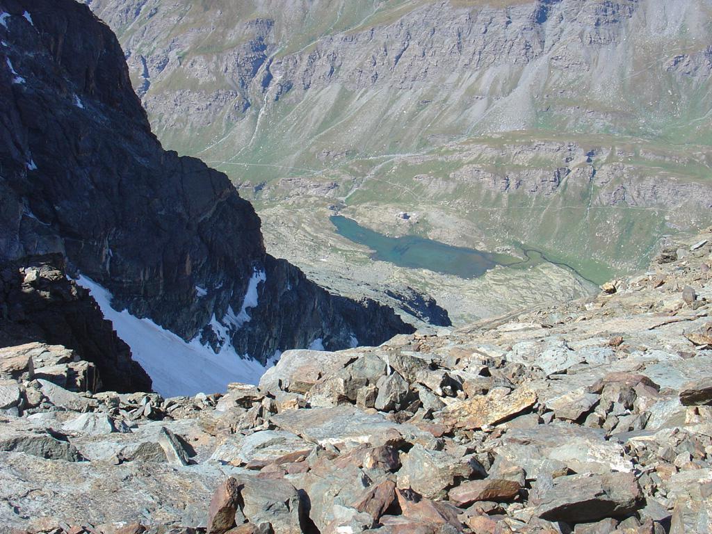 ghiacciaio del triangolo e rif. Vallanta