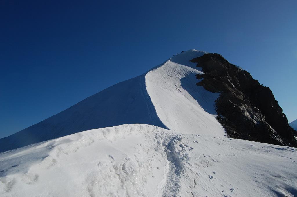 la stupenda cresta nevosa finale