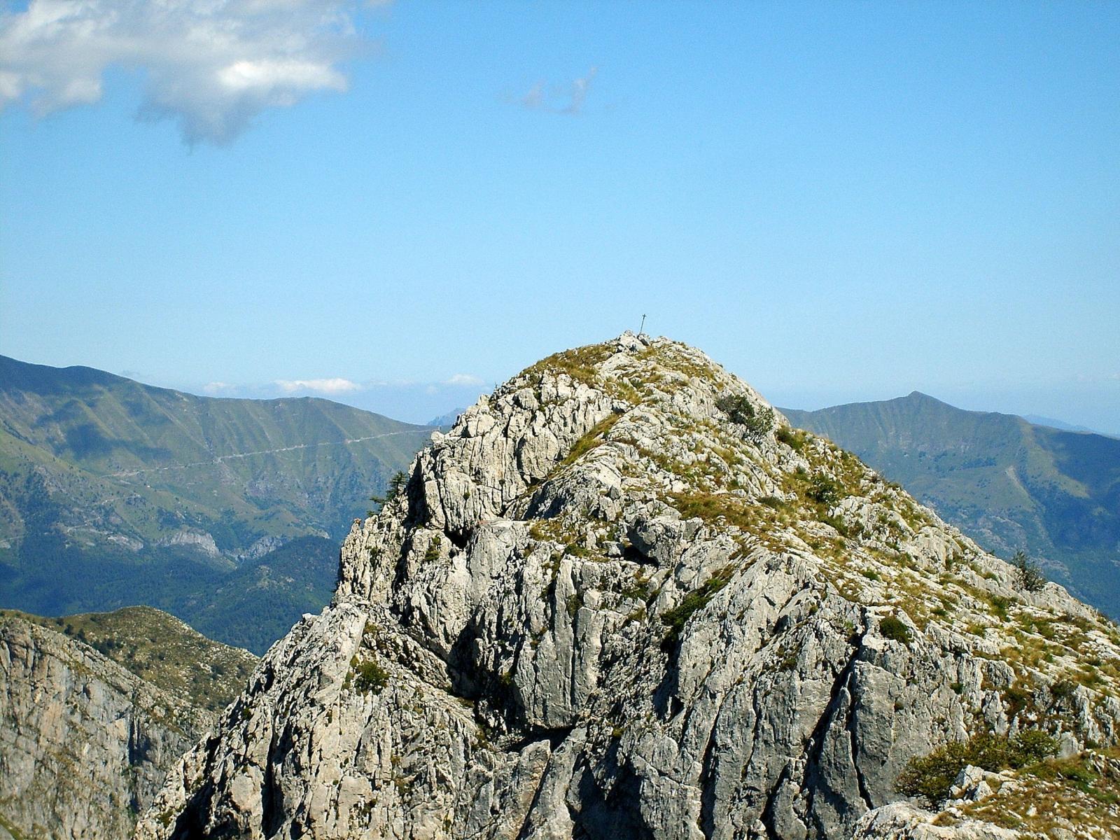 La seconda cima del Toraggio