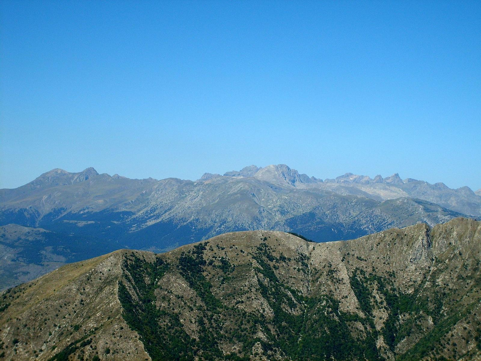 Le Alpi Marittime dal Toraggio
