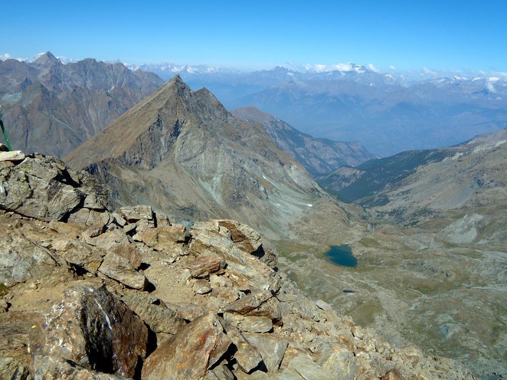 Lago Margheron e monte Rafray