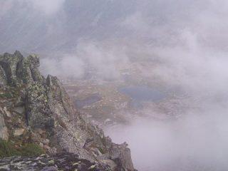 Dalla cima il vallone del Loo