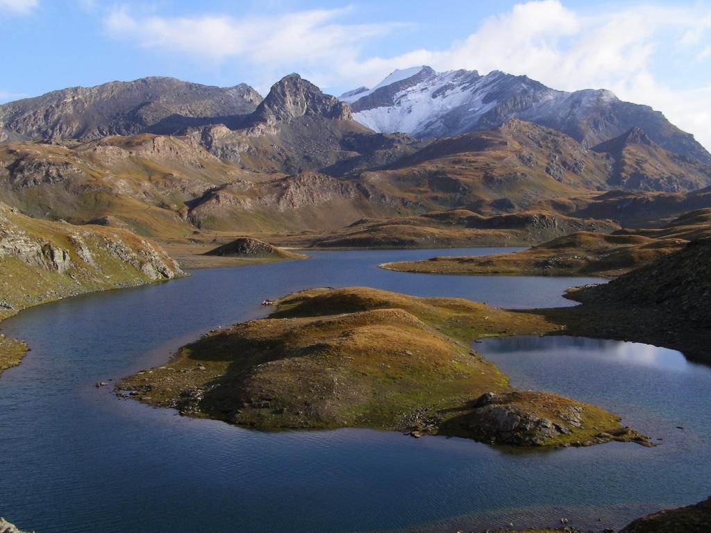 I laghi e il Taou Blanc innevato