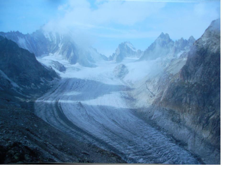 Il Glacier de Saleina dal Rifugio...