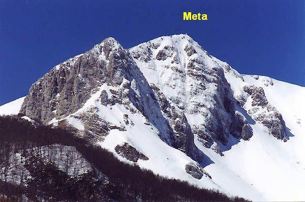 Meta (Monte) dal Piano Le Forme 2009-12-20