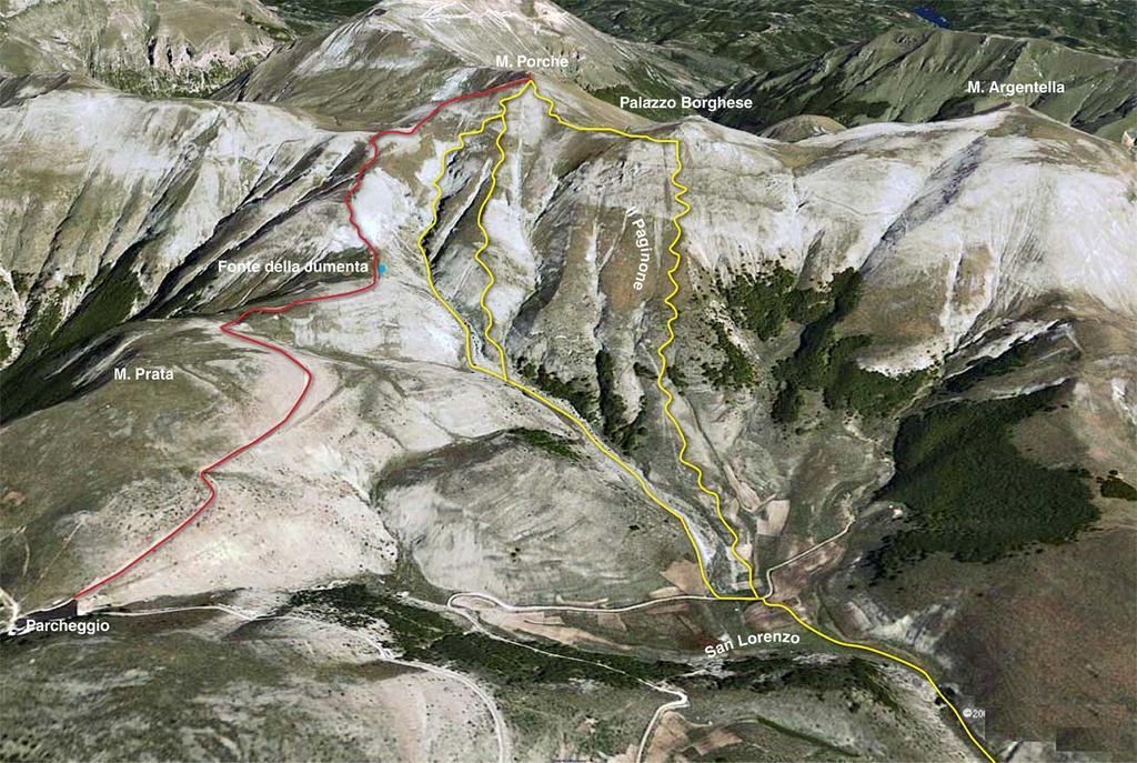 Porche (Monte) dagli impianti di Monte Prata 2009-09-17