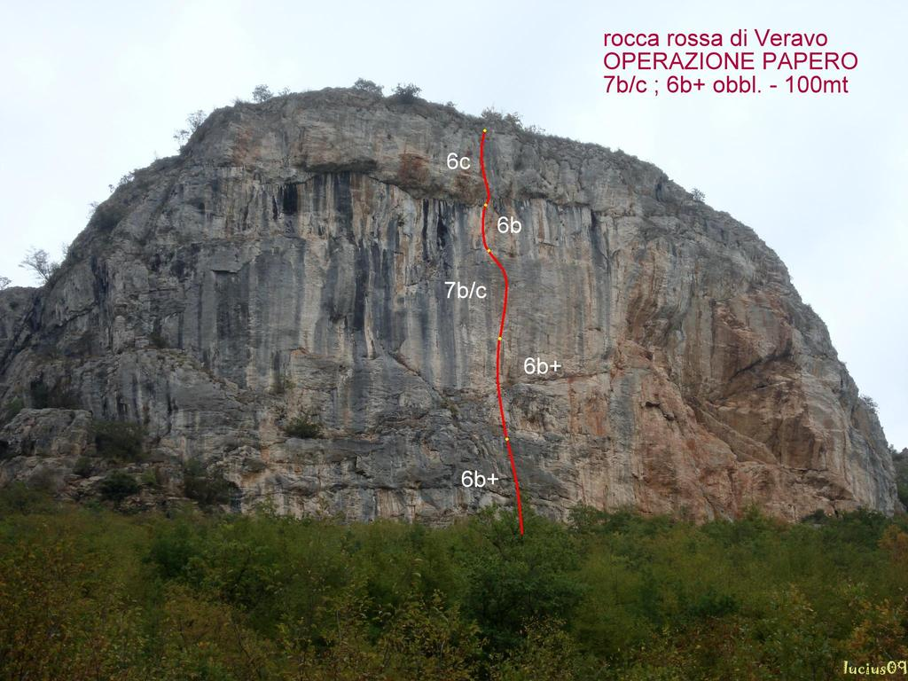 Rossa di Veravo (Rocca) Operazione papero 2009-09-17
