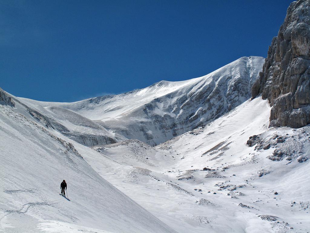 Vettore (Monte) da Foce per la valle del Lago di Pilato 2012-05-10