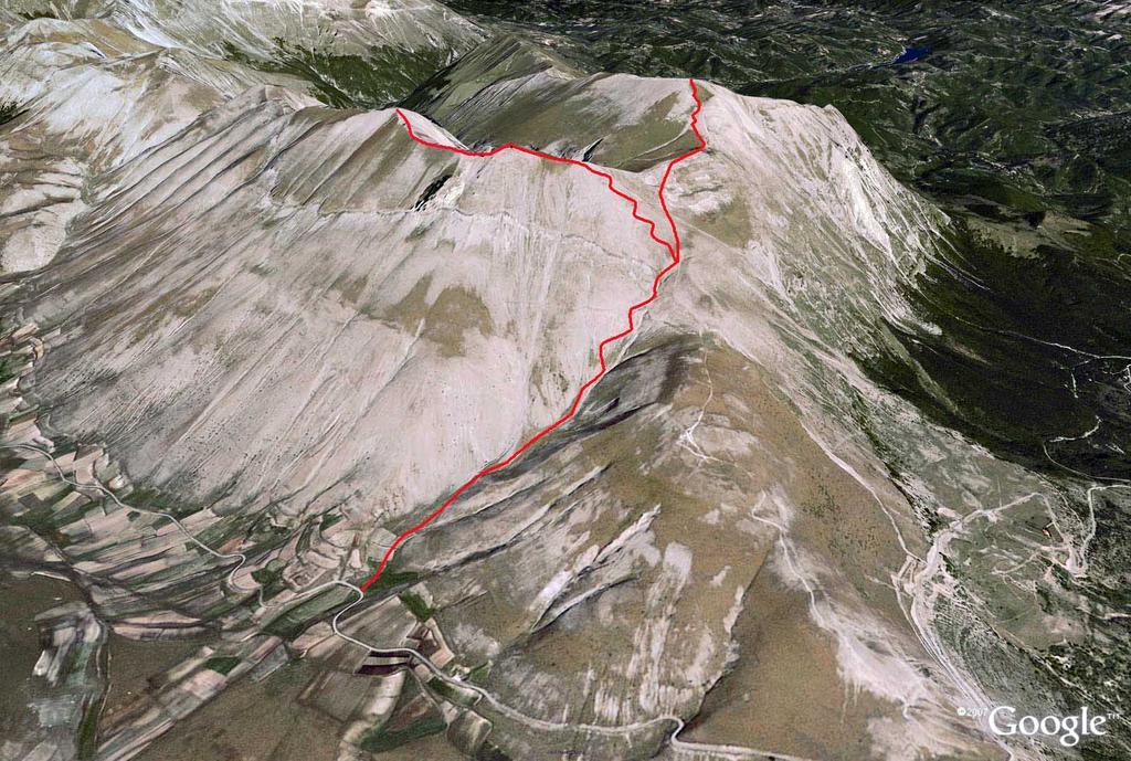 Vettore (Monte) per la Valle Santa 2009-09-17