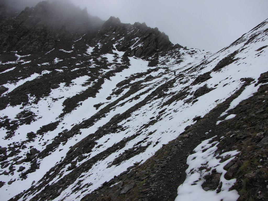 l'arrivo al Passo della Longia (20-9-2009)