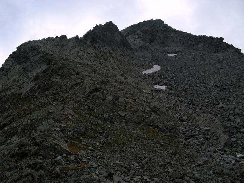 Monte dei Corni, dal Col Fricolla