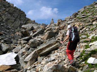 Arrivando al Col de la Fricolla