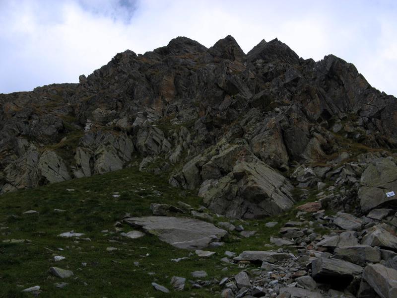 Monte Fricolla, dal colle omonimo