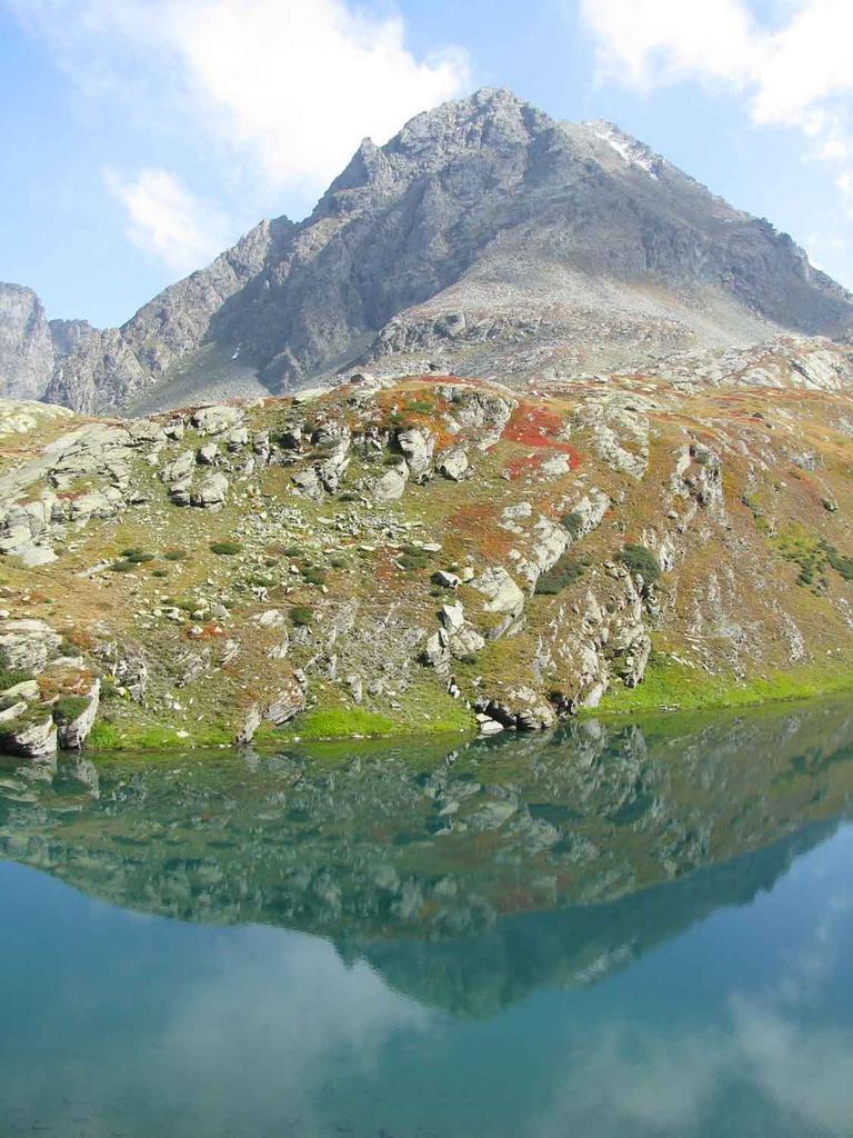 Il Manzol nel lago del Granero