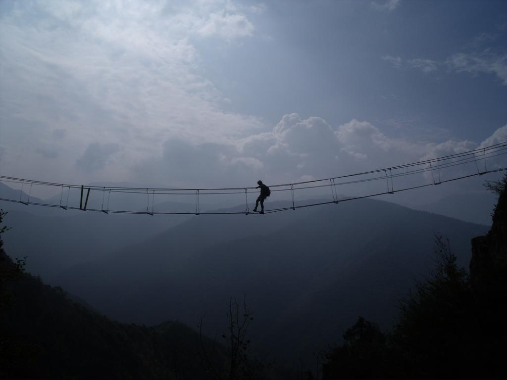 la metà del ponte