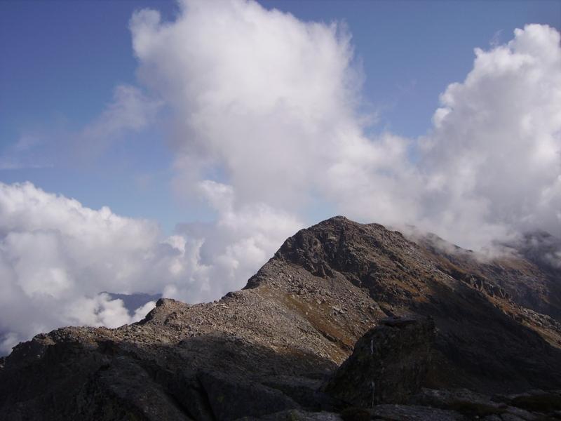 la Bellagarda dalla cima della Crocetta