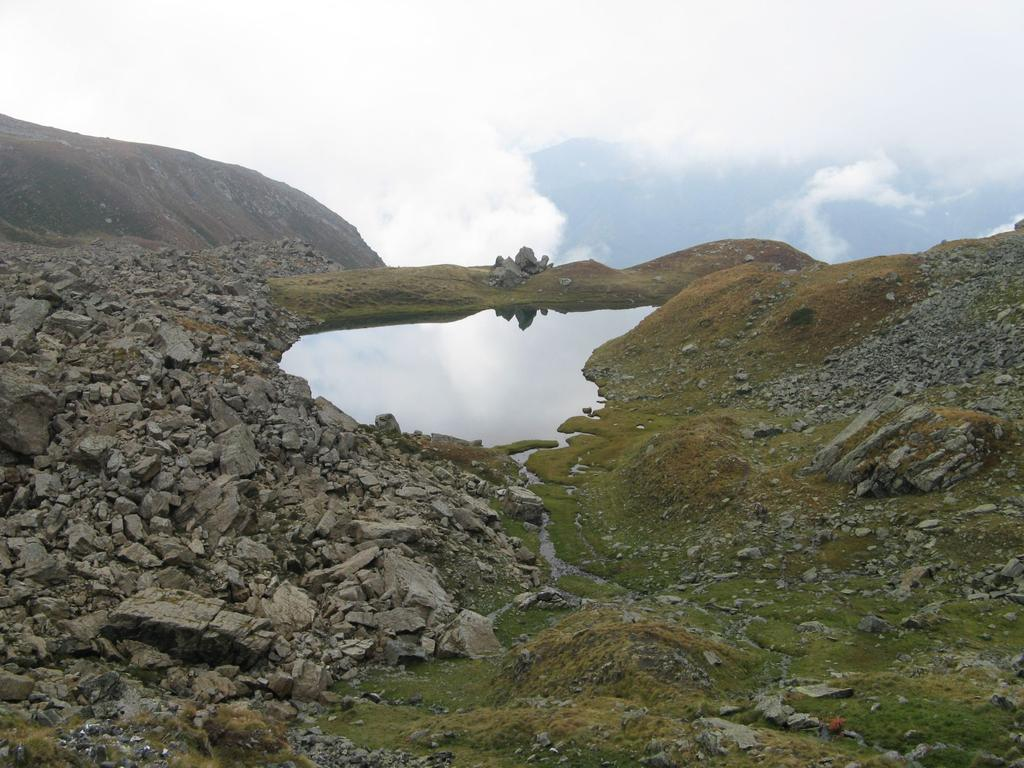lago cristalvert dall'alto