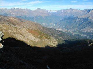 Uno sguardo verso la Val Susa