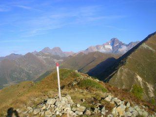 Sulla cima del monte Rolla