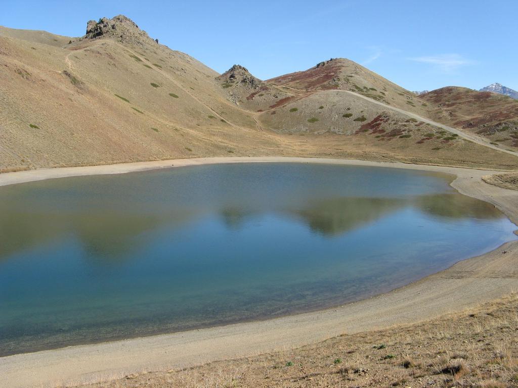 Lago 7 colori scendendo dal Gimont