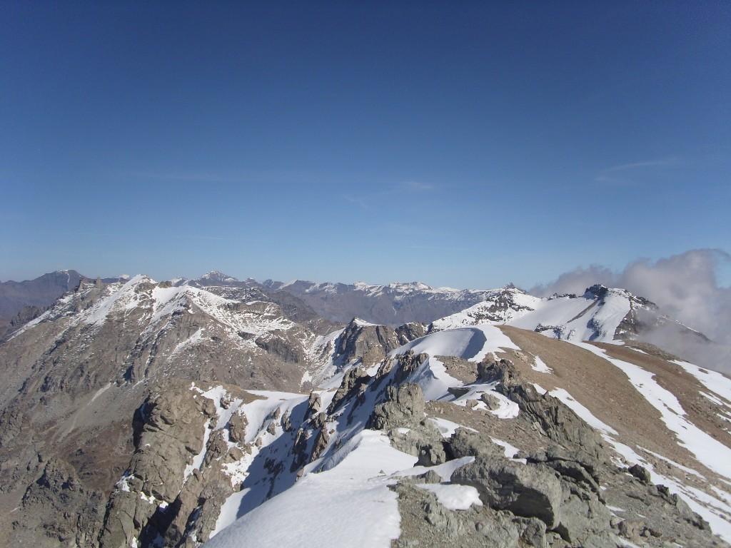 06 - Dalla cima, verso il M.Ambin, Niblè e Denti D'Ambin