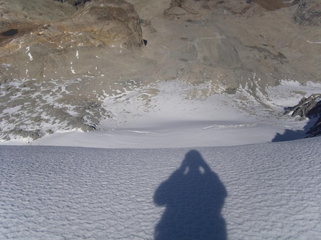 08 - Scivolo sul ghiacciaio del Sommeiller