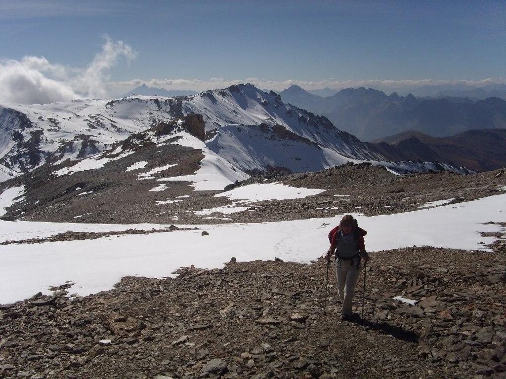 03 - Quasi in cima, uno sguardo verso la cima del Vallonetto