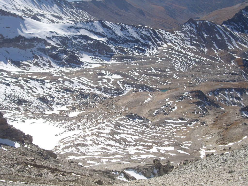 04 - La via di salita prima del passo dei Fourneaux