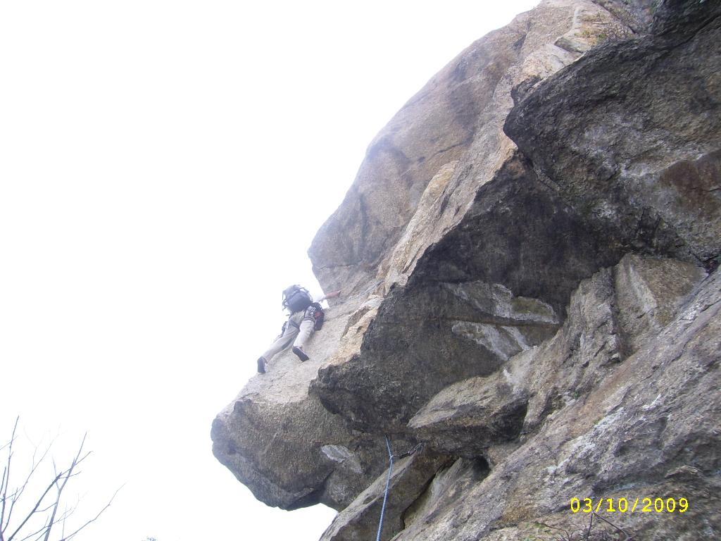 Tre Denti di Cumiana - Contrafforte Meridionale Via Brik 2009-10-03