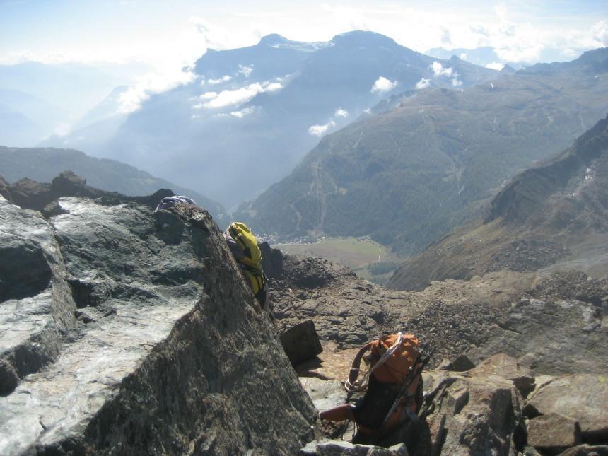 panorama sull'alpe Devero dalla vetta