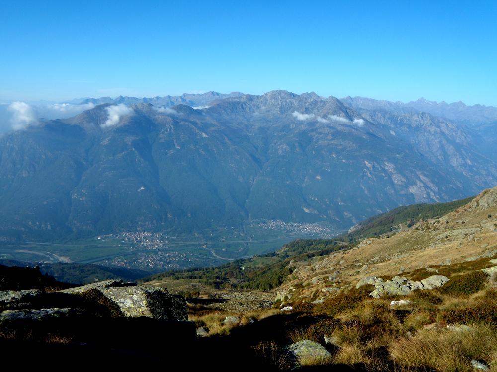 L'inizio della Valle d'Aosta
