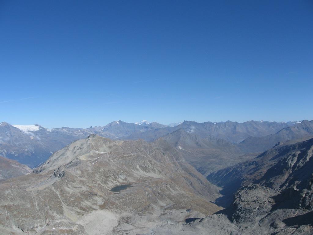 Mt.Bianco in lontananza