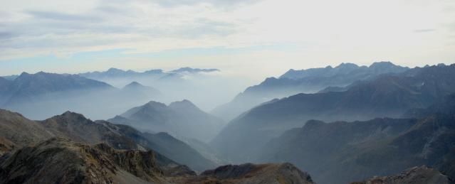 Bocon Damon da Mont Blanc, anello per il Col de Lac Blanc e Rifugio Barbustel 2009-10-06
