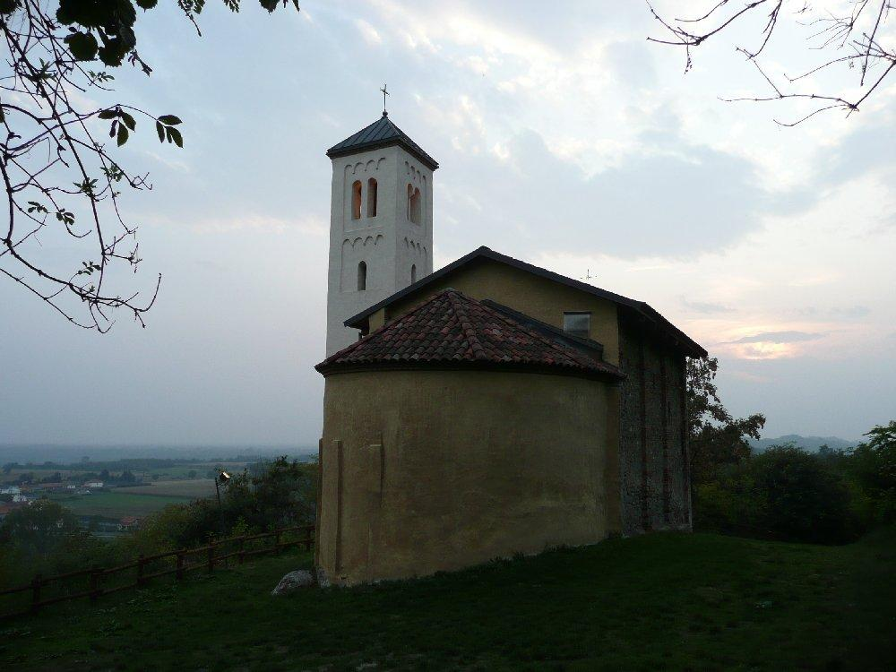 San Martino al tramonto