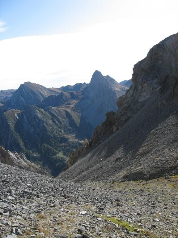 Cassorso (Monte), cima ovest da Grange Servino per il Passo della Gardetta, anello 2009-10-08