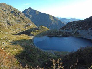 Il Lago del Mucrone al mattino.