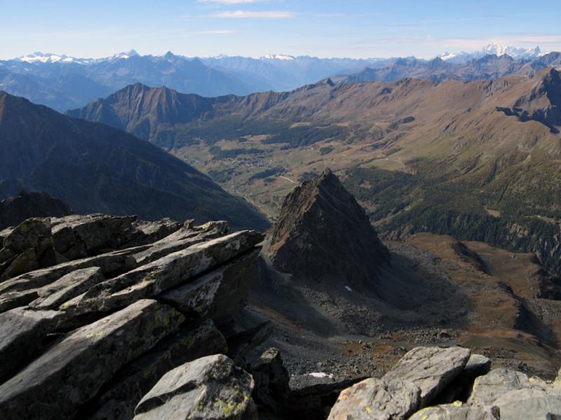 Monte Sarezza e i prati di Antagnod