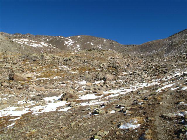 Verso il Pic du Lac Blanc