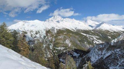 neve in valle Argentera: Querellet, Rognosa, ecc.