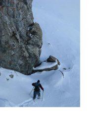 C'e molta neve oltre il colle di Malaura...