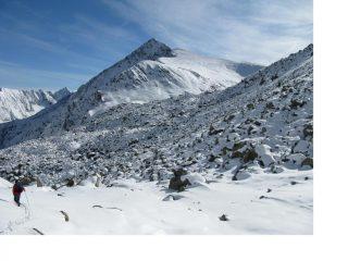 Pesaggio invernale.il ritorno a valle.
