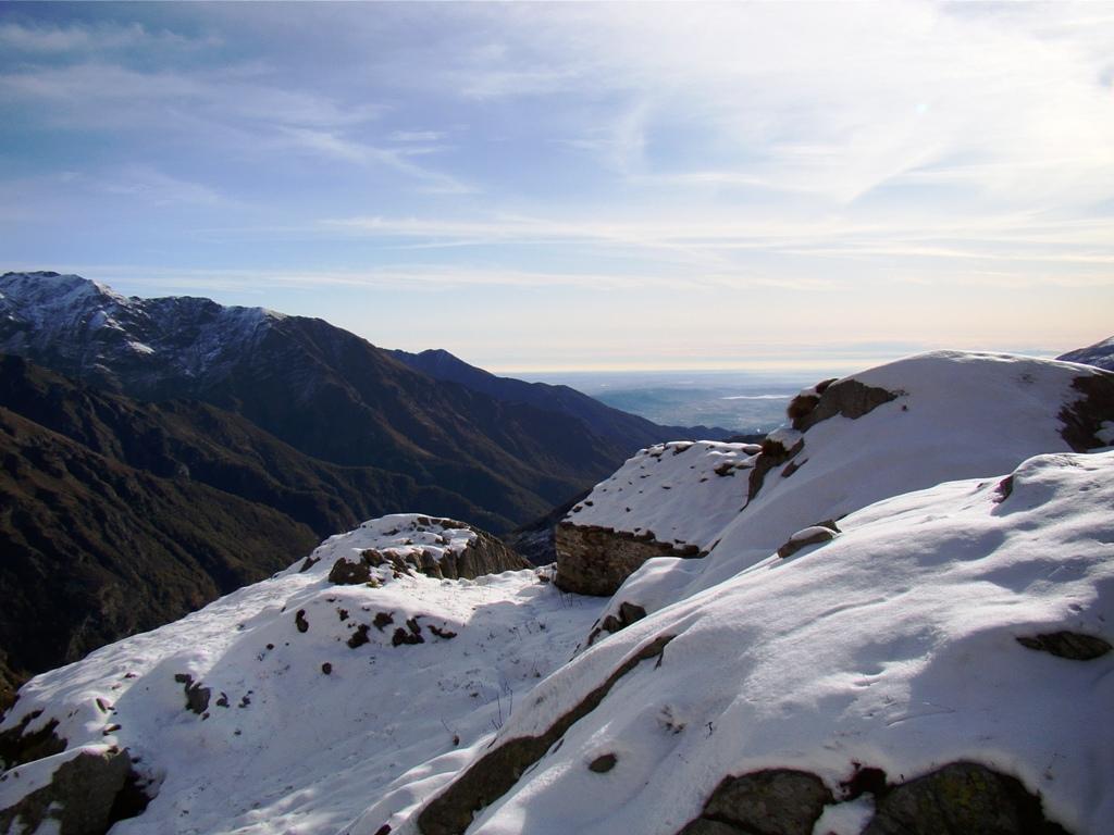 Alpeggi tra la neve....