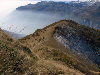 Mont de Ciarma e cresta di salita