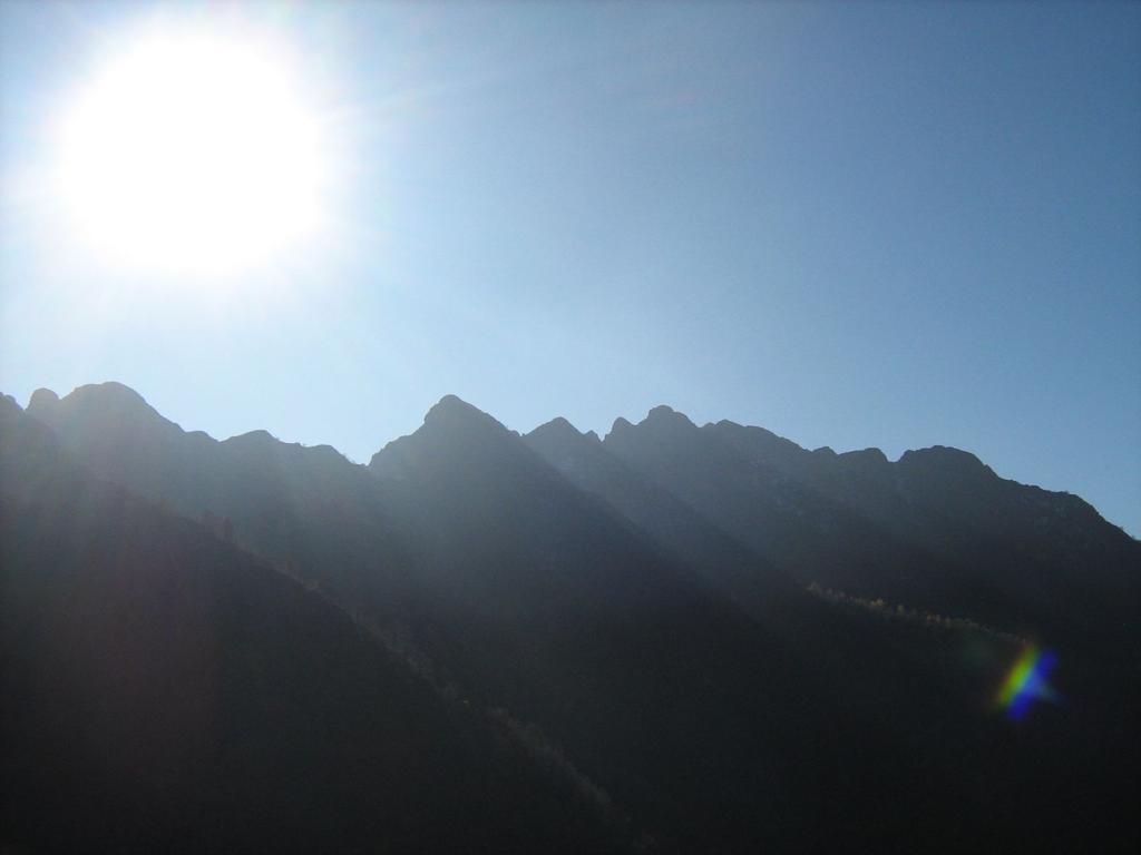 la cresta di Valmala
