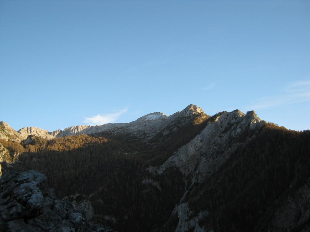 La cresta Piancaformia