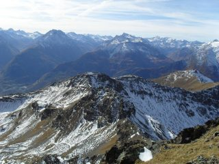La vicina punta Leisse' vista dal Monte Rosso