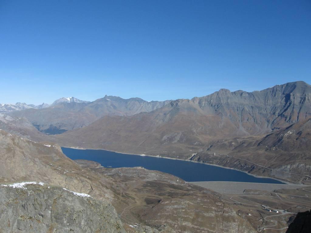 Salendo, vista sul lago Moncenisio