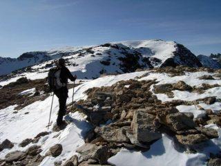Dalla cima di Bard verso il Giusalet