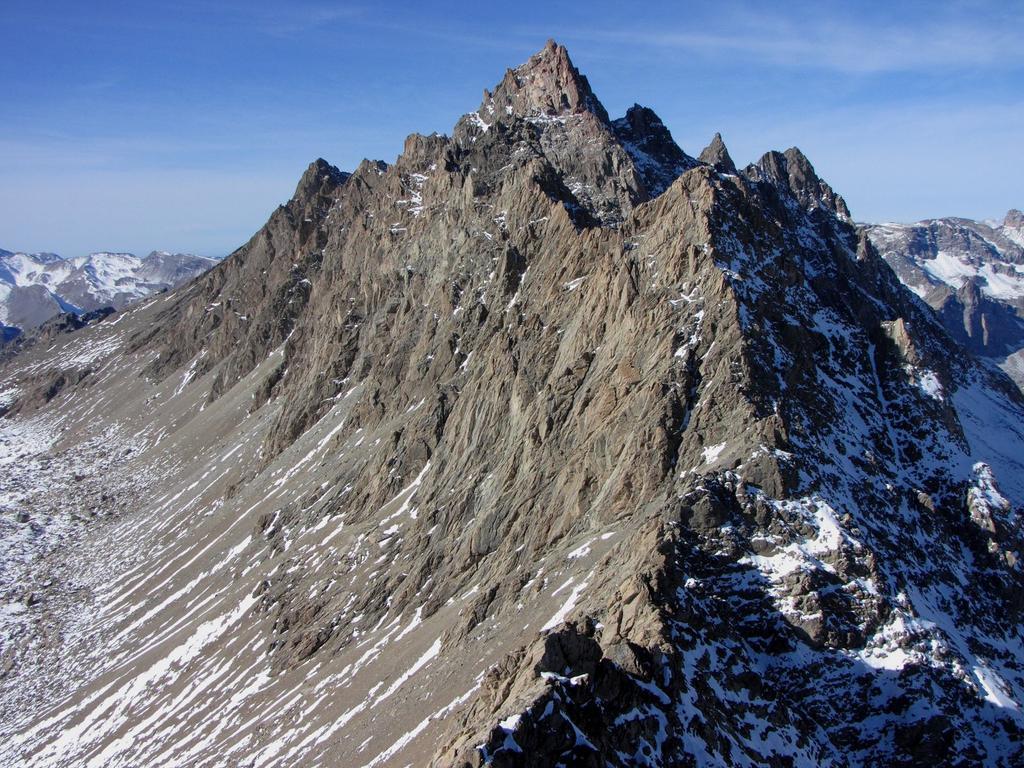 panorami dalla cima : Aiguille de Chambeyron (1-11-2009)