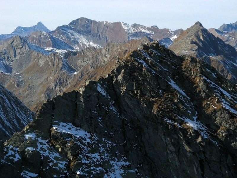La cresta SE del Mont Debat